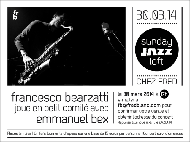 JAZZ - Sunday jazz loft 26-01-1462