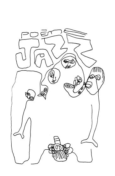 SCAN - Dessin marché de la poésie : Jazz