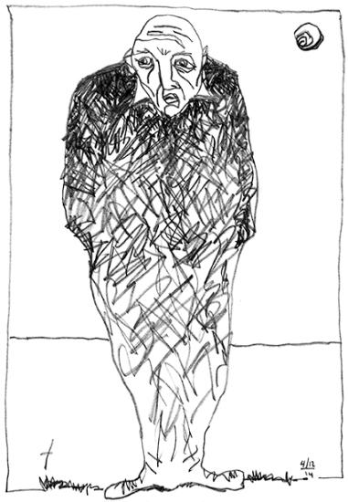 Scan - dessin personnage en noir 72dpi