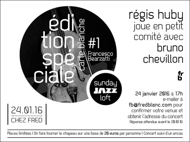Invitation Frèd Blanc 2